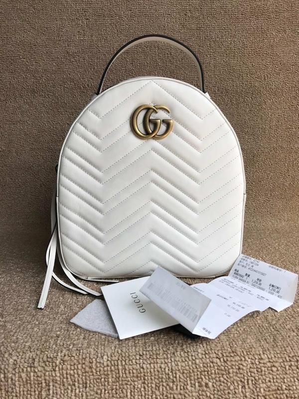 Gucci GG Marmont Backpack Matelasse Leather Small  fashion  clothing  shoes   accessories  womensbagshandbags (ebay link)   Women s Bags   Handbags ... b9646c7581