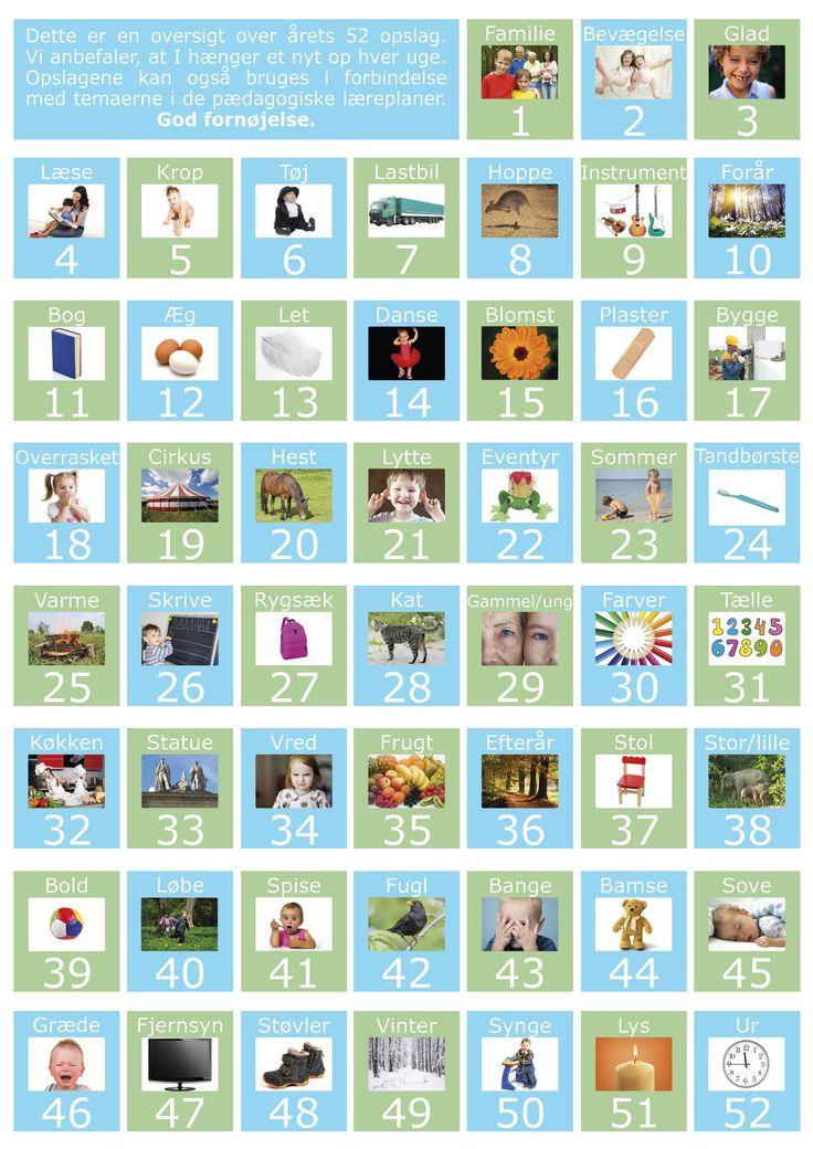 Sprogkalenderen | sprogkiosken