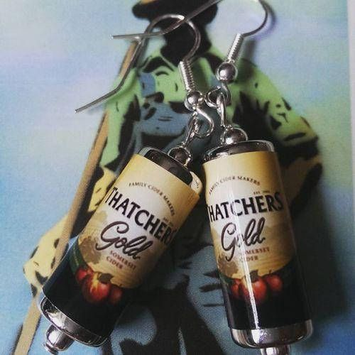 Thatchers Gold Cider Earrings