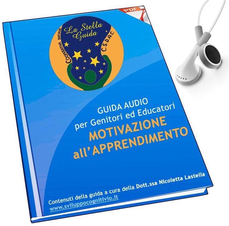 CSDAC, La Guida Audio MOTIVAZIONE APPRENDIMENTO basato sul Metodo Feuerstein, in cui si insegna un metodo per motivare gli studenti nel contesto scolastico. LEZIONI PRATICHE per riuscire a SVILUPPARE UNA BUONA CAPACITA' METACOGNITIVA CHE RISVEGLI NEI RAGAZZI LA LORO VOGLIA DI APPRENDERE E TUTTE LE LORO POTENZIALITA', AUMENTANDO COSI' IL GRADO DI COMPETENZA E LA MOTIVAZIONE.