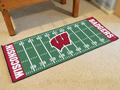 University of Wisconsin Football Field Runner