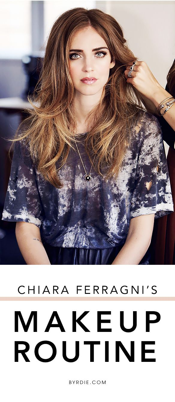 Chiara Ferragni of The Blonde Salad shares her favorite hair mask, makeup look, beauty advice & more in an exclusive interview. (via @byrdiebeauty)