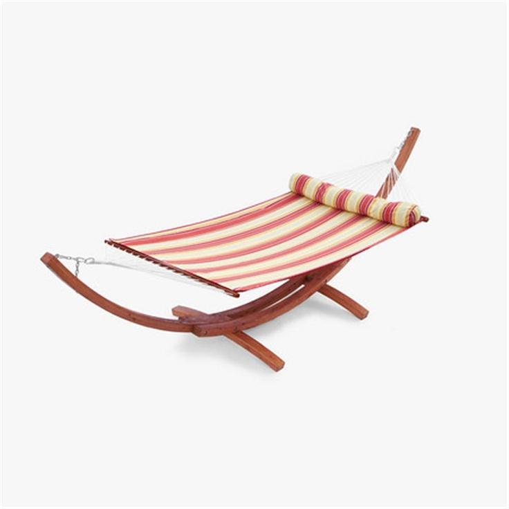 A striped hammock for my garden, please!