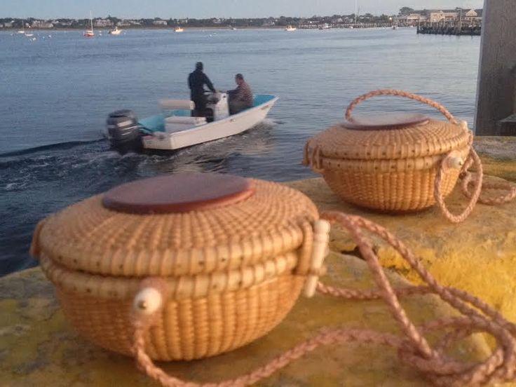 Handmade Nantucket Basket : Images about baskets on