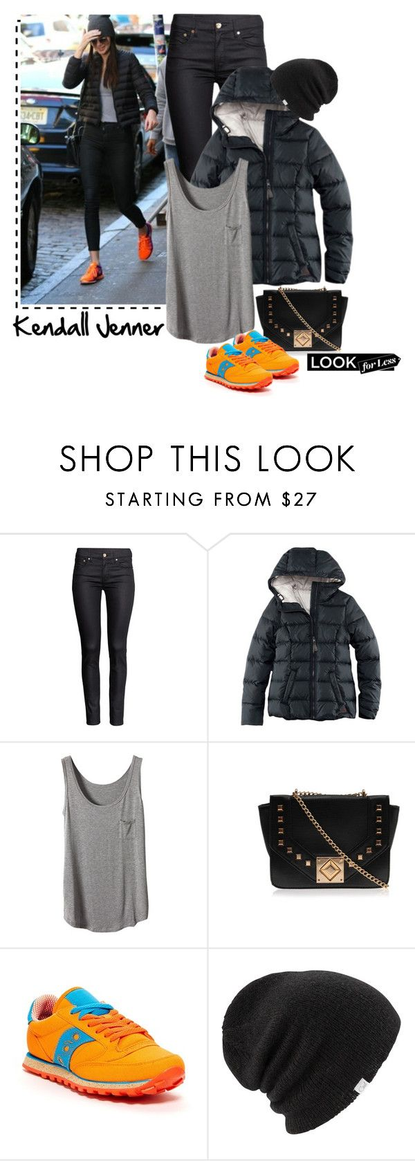 """Kendall Jenner"" by ecem1 ❤ liked on Polyvore featuring H&M, Carvela Kurt Geiger, Saucony and Coal"
