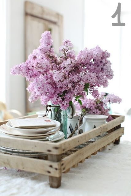 the simple joys of freshly cut Lilacs…and combinedwith a masonjar, amazing.