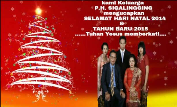 """Our wonderful family would like to say: """"Merry Christmas n Happy New Year,,"""""""