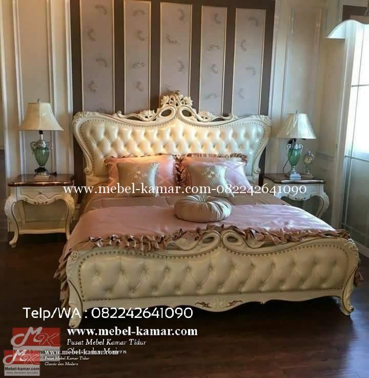Tempat tidur mewah klasik modern -set kamar tidur mewah ukir jepara