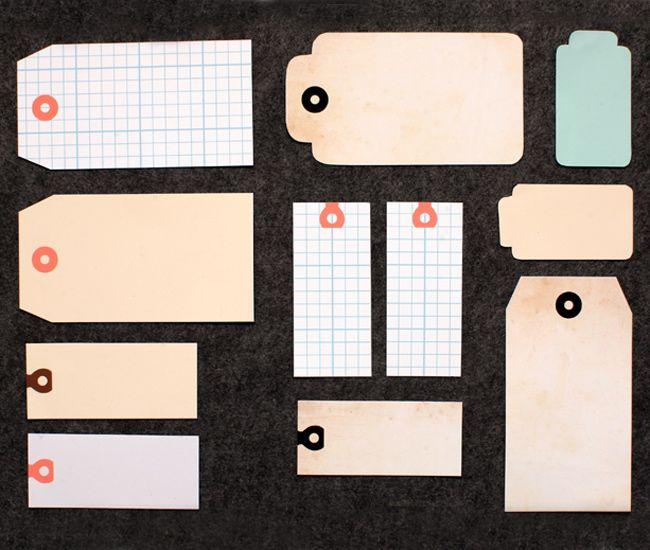 amazing printable tags via paperplayne.com (love DK everything ...