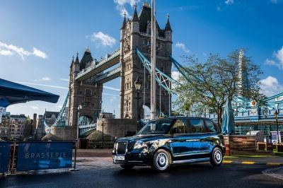 First electric taxi hits the streets of London