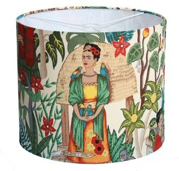 Buy designer cushion online: Frida Kahlo Medium Drum. See our professional sewing service for custom products.