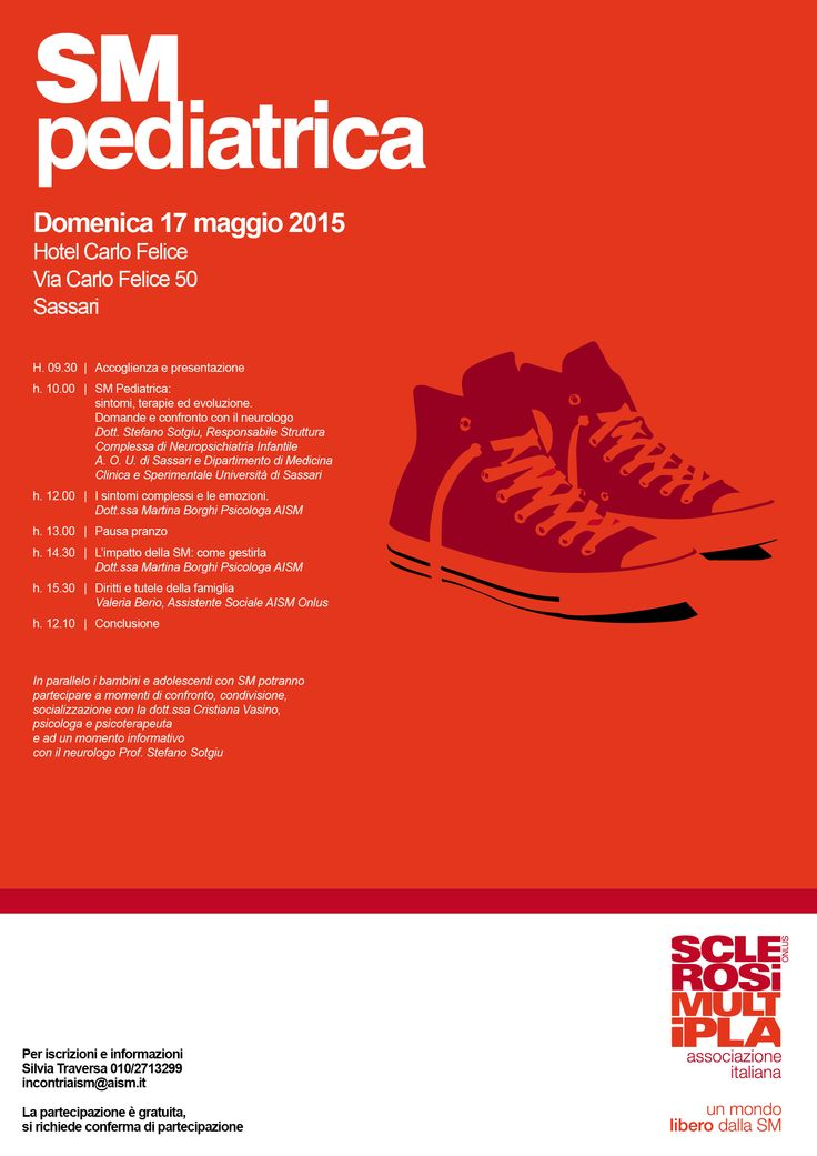 AISM Associazione Italiana Sclerosi Multipla - Convegno Evento Pediatrico