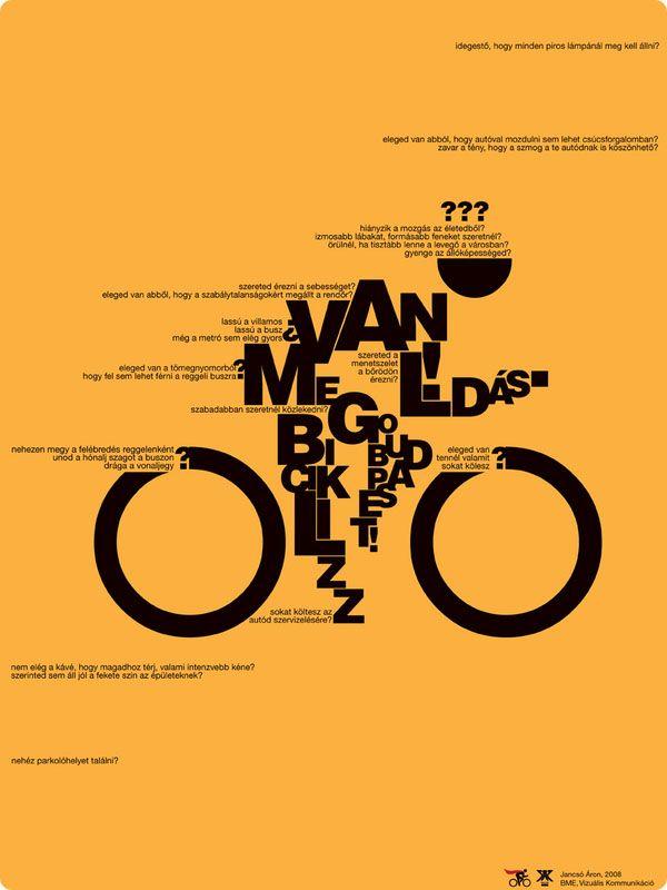 Posters Tipográficos de Aron Jancso                                                                                                                                                                                 Más