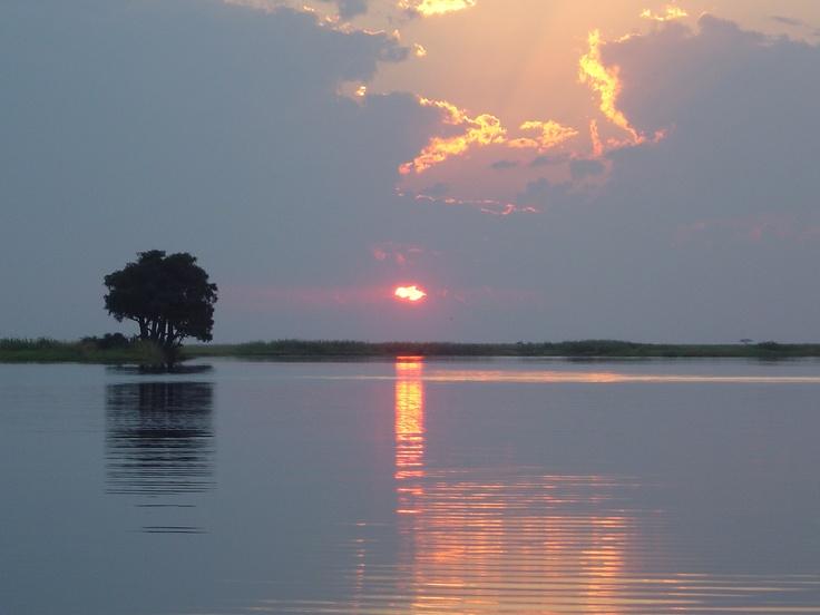 Chobe River - Sunset