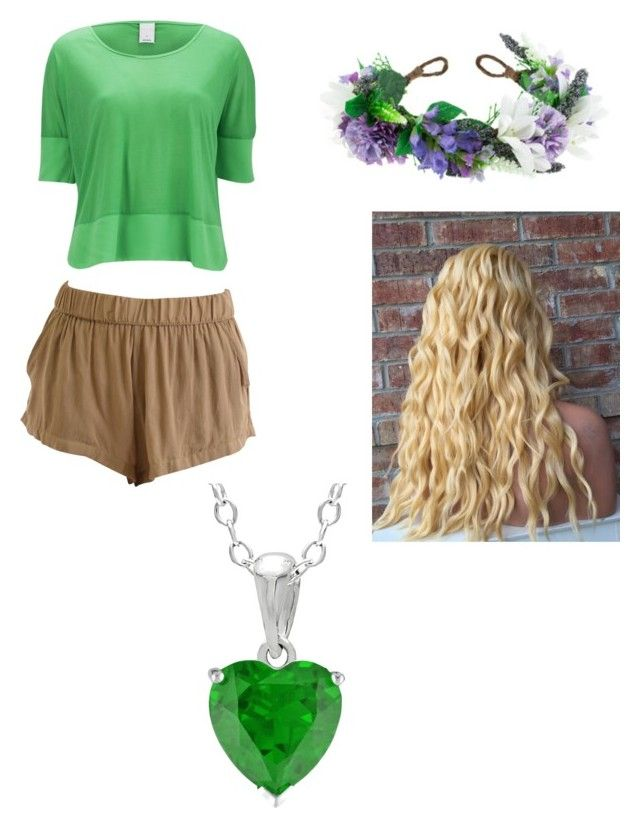 """""""How to cosplay as Zoey from Minecraft Diaries"""" by atang-1 on Polyvore featuring Vero Moda, Rock 'N Rose, women's clothing, women, female, woman, misses and juniors"""