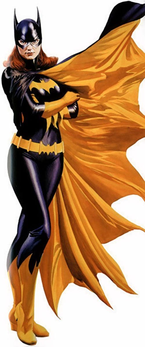 Barbara Gordon and alter ego Batgirl as the daughter of Gotham City's Police Commissioner James Gordon. While driving to a costume ball dressed as a female version of Batman, Barbara Gordon intervenes in a kidnapping attempt on Bruce Wayne by the super villain Killer Moth, attracting Batman's attention and leading to a crime-fighting career.