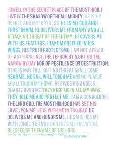 the wings of god psalm 91 sermon notes psalm 91 niv poster created by ...
