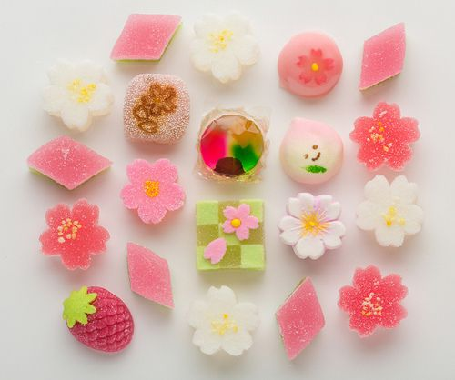 Assorted Wagashi & Japanese Candies