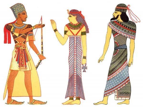 поселок употребил одежда древних египтян картинки объявления