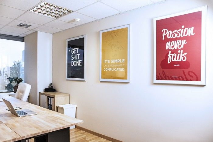 Awesome Home Interior Design · #Office Signs | Cloudie Co. Media Agencys Bright  Athens Office | #Work