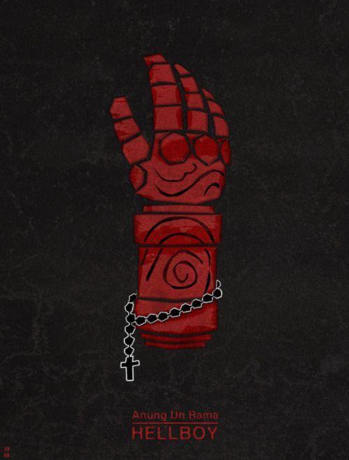 Hellboy #minimalist #movieposters – #Hellboy #Minimalist #movieposters