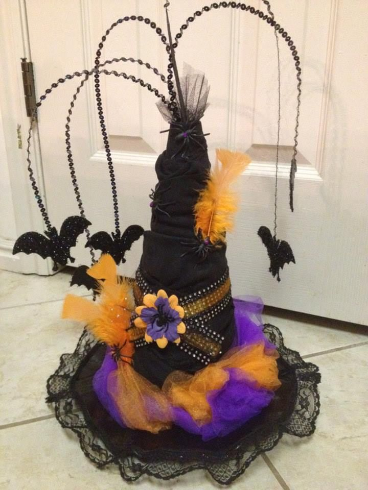 89 best Witches Hats DIY images on Pinterest