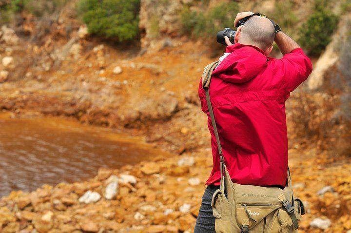 Corso di fotografia sportiva e Outdoor  all'Isola d'Elba, Miniere di ferro, RIO MARINA,Paolo Meitre Libertini Nikon school.