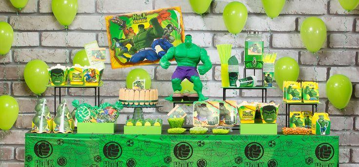 Um dos mais queridos integrantes dos Vingadores, o famoso e incrível Hulk agora tem o seu próprio tema para festa! Sucesso no mundo do cinema, quadrinhos e agora também em desenho, o famoso Dr. Bru…