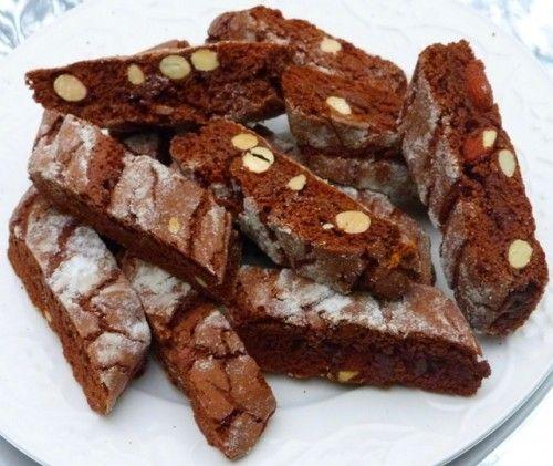 Csokoládés biscotti