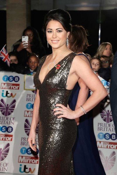 Sam Quek attends the Pride Of Britain Awards at Grosvenor House, on October 30, 2017 in London, England.