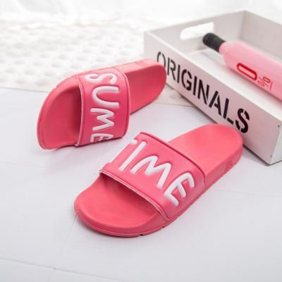 Women Slides Flip Flops Sandals Fashion 2017 Brand Unisex Indoor Home Slippers Casual Summer Comfortable Woman Flats Beach Shoes