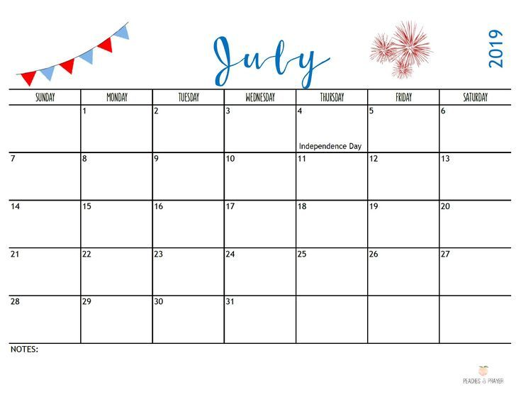 Free 2020 Monthly Calendar Printables Two Options Cool