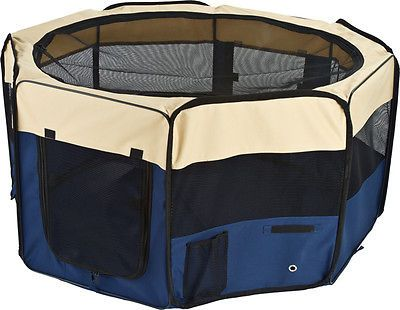 Fences and Exercise Pens 20748: Large Portable Dog Playpen With Removable Mesh Top -> BUY IT NOW ONLY: $36.98 on eBay!