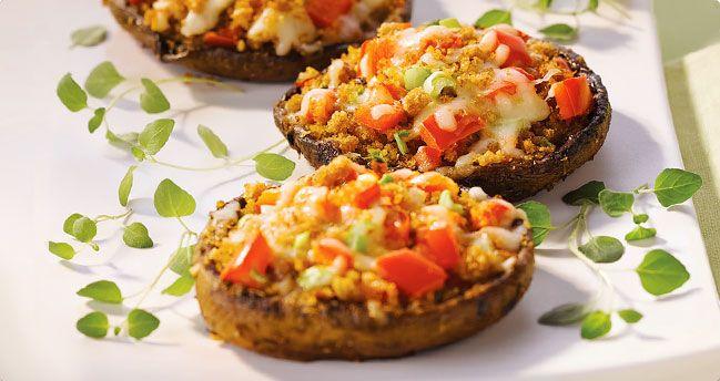 Diana Sauce Garlic Herb Portobello Caps