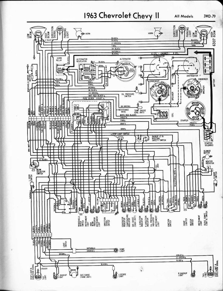 63 Nova Wiring On 1963 Chevy Truck Wiring Diagram ...