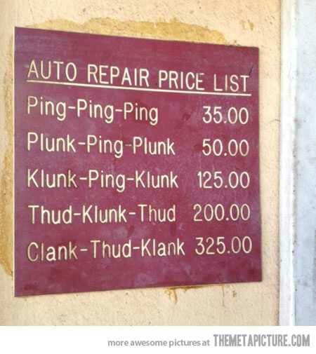 Can T Pay For Car Repair