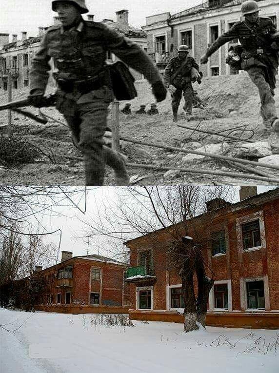 Then & Now Stalingrad 1942