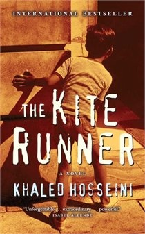 Khaled Hosseini - The Kite Runner.  This book will tug at your heart strings.  It's a shattering story of betrayal and redemption set in war-torn Afghanistan.  I highly recommend this book.