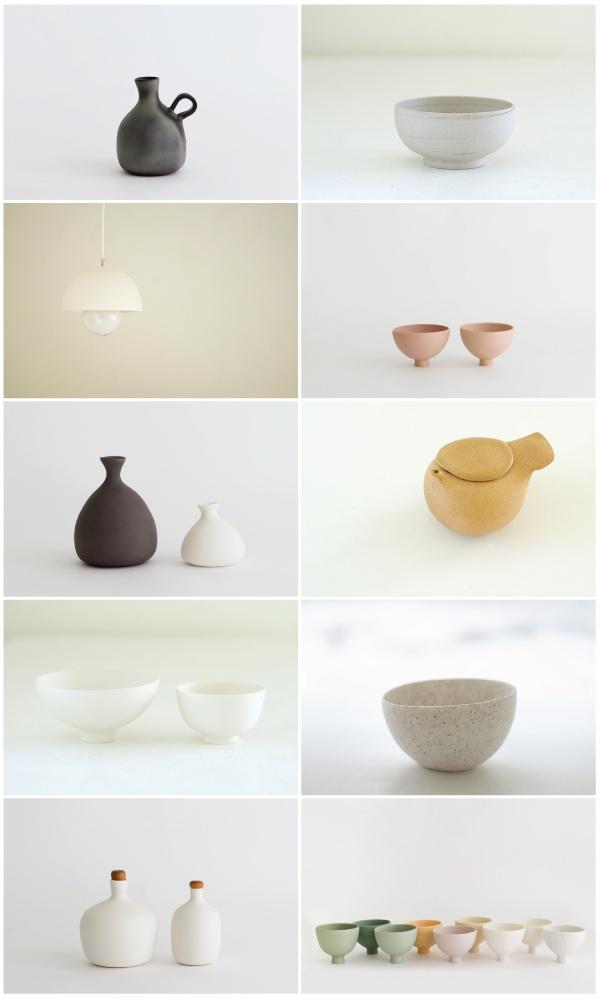 ▲ mushimegane books: Gorgeous Ceramics, Mushimegan Books, Lights Ceramics, Objects Ceramics, Clean Line, My Life, Refin Simplicity, Satsuki Shibuya