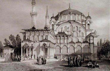 Tophane-Nusretiye Mosque, Istanbul - via nevin kurtay