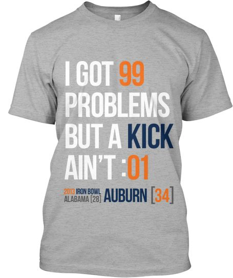 23 best i hate alabama images on pinterest auburn tigers for Auburn tigers football t shirts