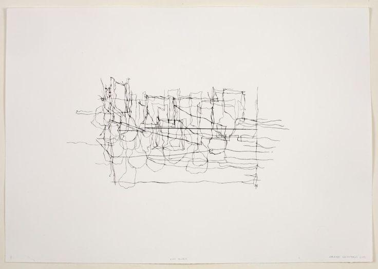 Lorenzo Nassimbeni, 'Find', Drypoint, 42,3 x 60,5 cm.