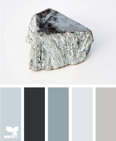 mineral grays, living room