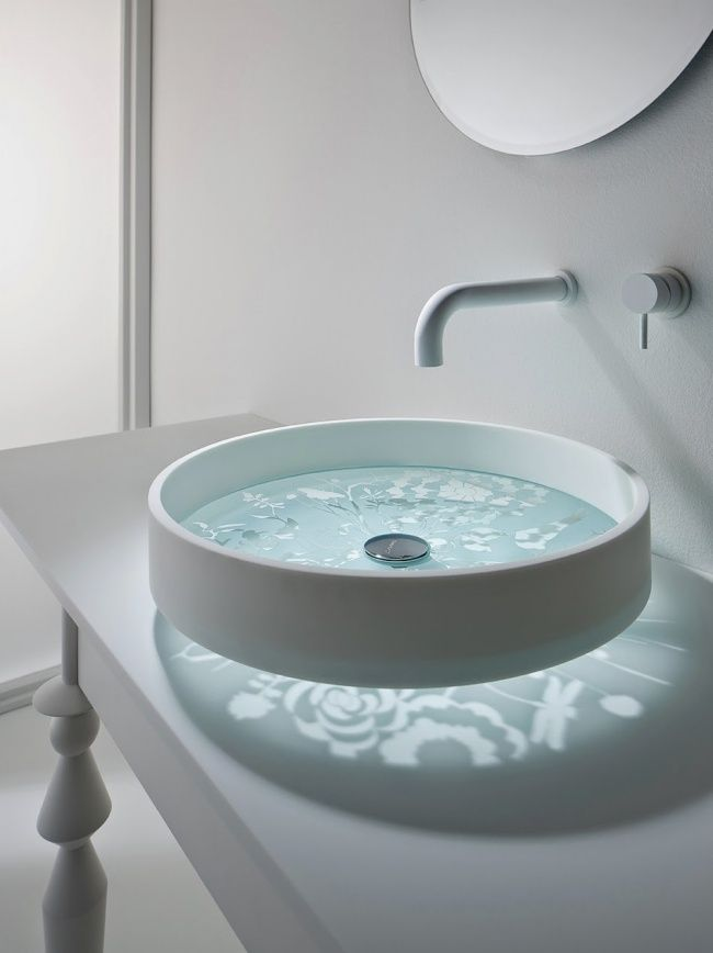 A beautiful kaleidoscope basin #bathroom #creative #design