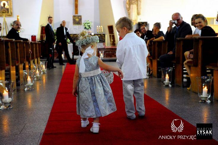 23. Roman Wedding,Church decor  / Rzymskie wesele,Dekoracje kościoła,Anioły Przyjęć