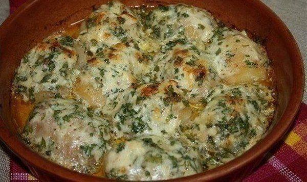 Картошка, запеченная в чесночном масле | Про рецептики - лучшие кулинарные рецепты для Вас!