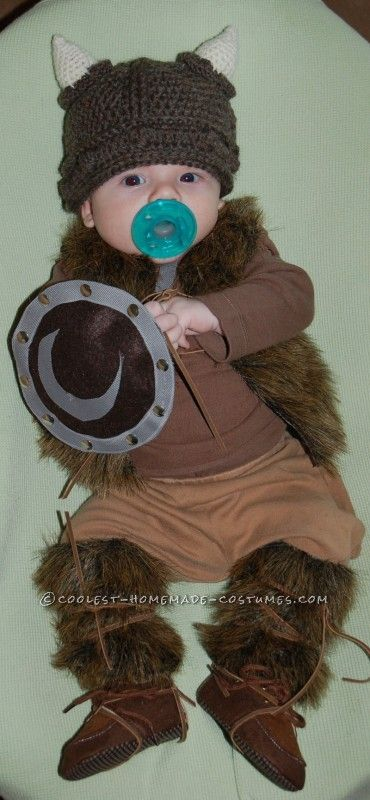 Pint-Sized Baby Pillager Viking Costume ... This website is the Pinterest of costumes