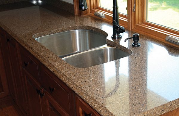 Rio Series Riverstone Quartz Countertops