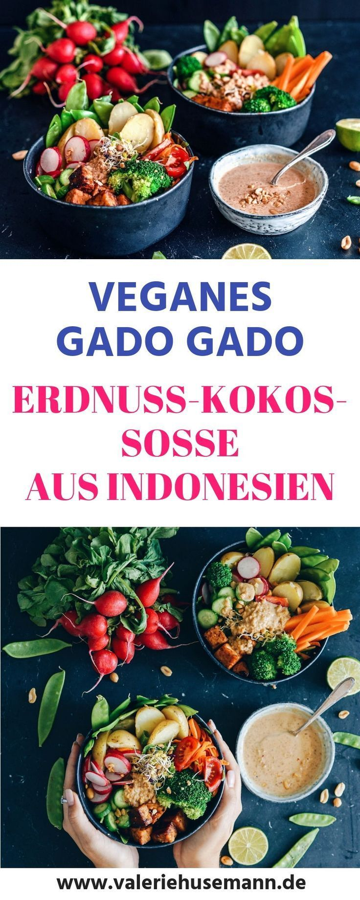 Erdnuss-Kokos-Sauce aus Indonesien, vegan – Vega…