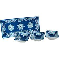 Le Cadeaux Dinnerware Sets Havana - 4 Piece Dip or Appetizer Set